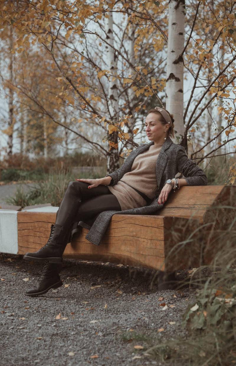 Осенняя фотосессия в парке Зарядье