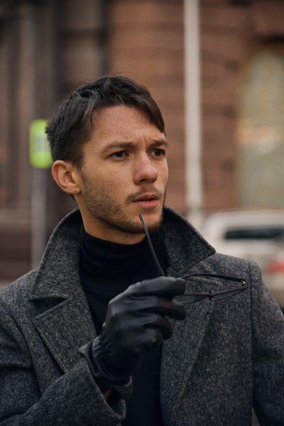 Фотосессия актера в Москве