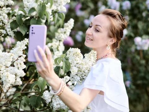 Фотосессия в Сиреневом саду